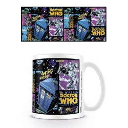 Mug - Doctor Who - Comic Strip