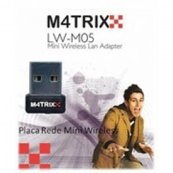 MATRIXX - P.Rede Wireless USB Mini LW-M05