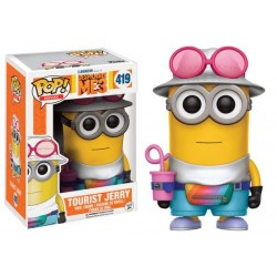 Funko POP! Despicable Me 3 -Tourist Jerry 419