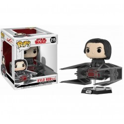 Funko POP! Ridez:Star Wars - Kylo ren on Tie fighter 215