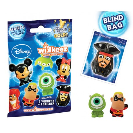 Pack sortido Disney Wikkeez