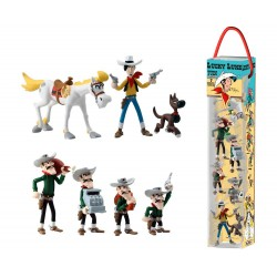 Lucky Luke - 7 Pack Figure