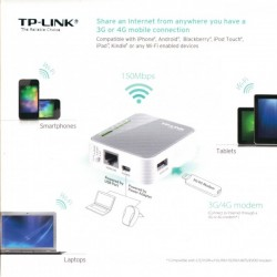 Router Wireless TP-LINK TL-MR3020
