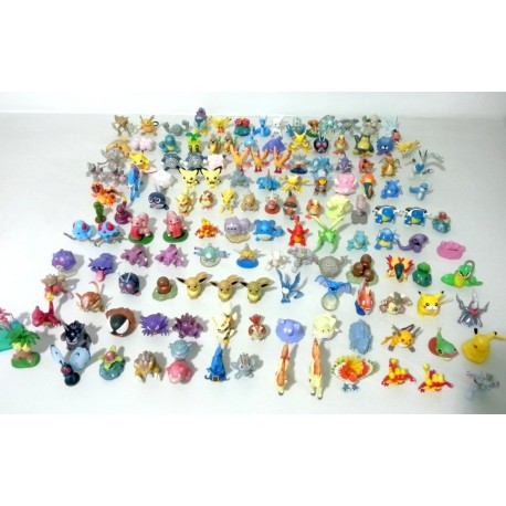 Figurino Pokémon mini pack 5 unidades