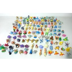 Figurino Pokémon mini pack 10 unidades