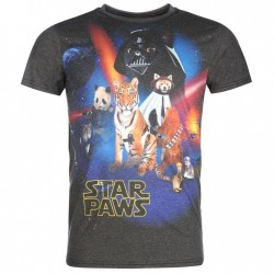 T-shirt Star Paws