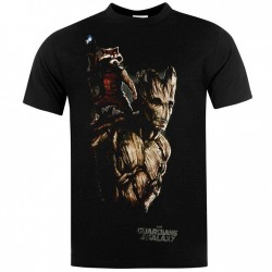 T-shirt Guardians of the Galaxy - Groot and Rocket Raccoon