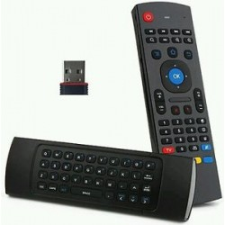 Airmouse/comando com teclado wireless