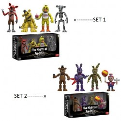 Funko Games - Five Night´s at Freddy´s Pack 4 Mini Action figures